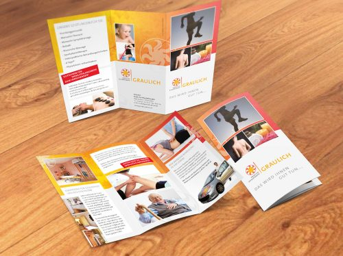Flyer Graulich Physiotherapie