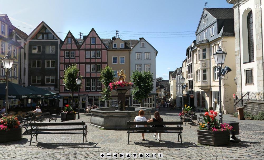 360° Panoramafoto Alter Markt