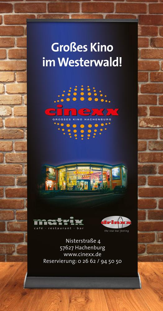 Roll-Up Banner Cinexx