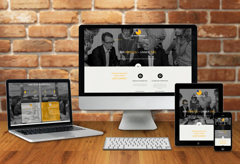 Internetseite a-komm24