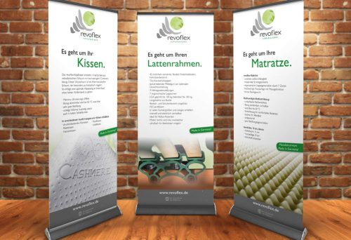 Roll-Up Banner revoflex