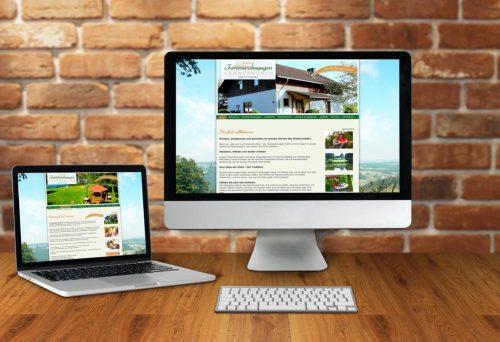 Internetseite Ferienwohnungen Hammermühle