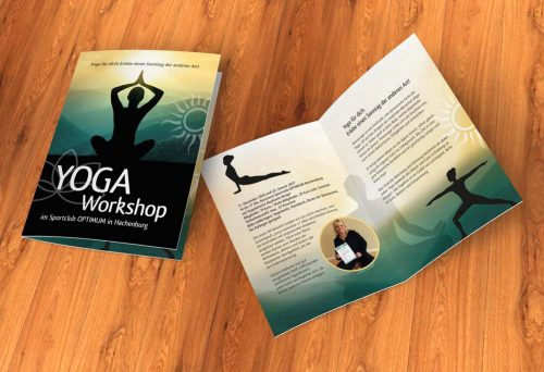 Flyer Yoga Workshop