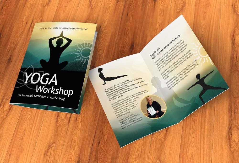 Flyer Yoga Workshop