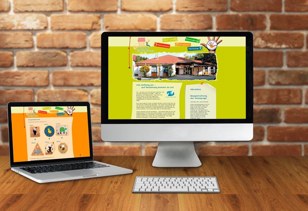 Internetseite Kinderhaus Hachenburg