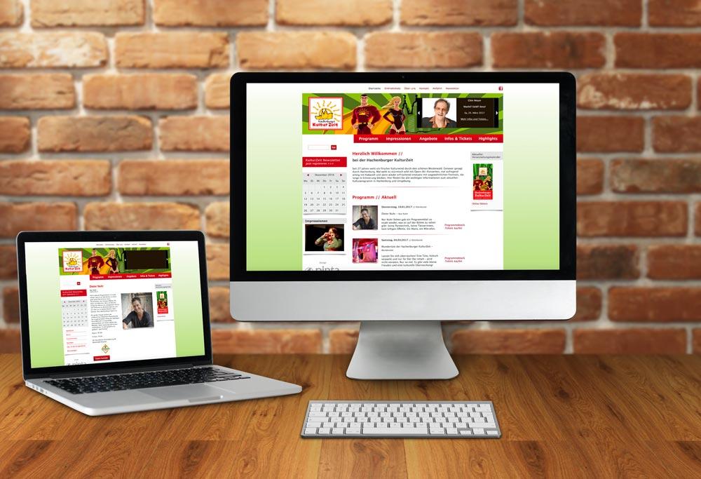 Internetseite Hachenburger KulturZeit