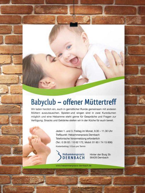 Plakat Babyclub