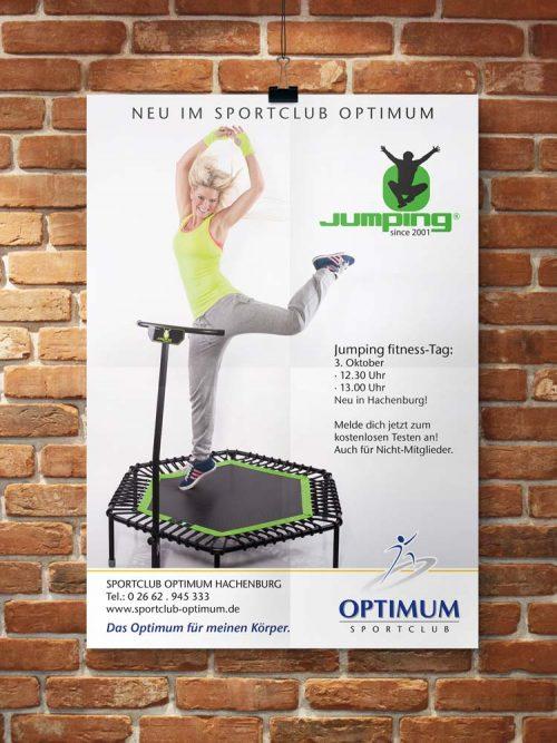 Plakat Jumping fitness