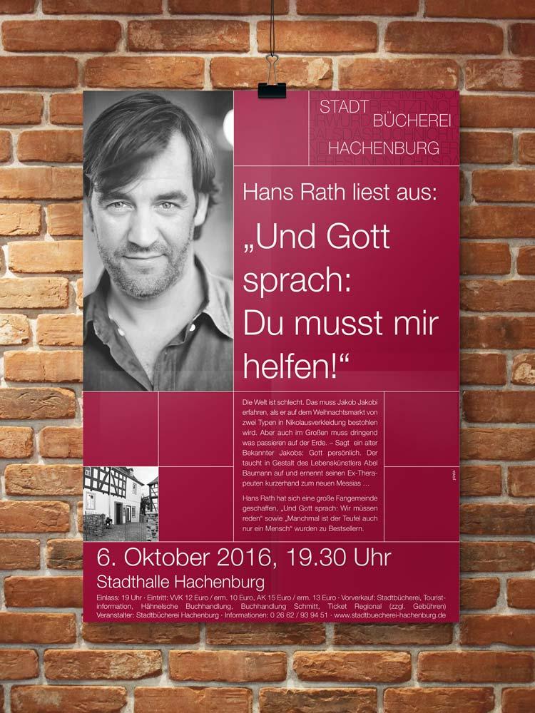 Plakat Stadtbüchrei