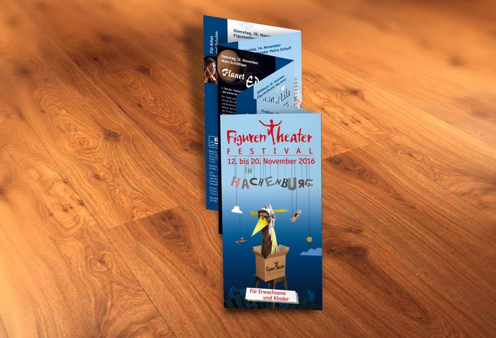 Flyer Figurentheaterfestival