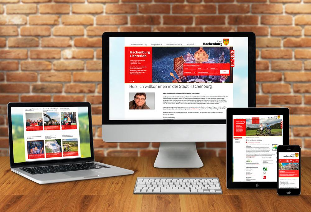 Internetseite Stadt Hachenburg