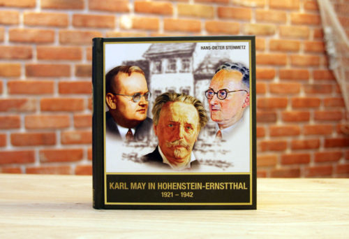 Buchcover Karl May in Hohenstein-Ernstthal